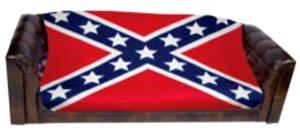 Confederate Flag Fleece Blanket