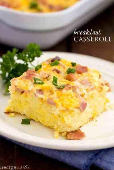 The Best Breakfast Casserole | The Recipe Critic