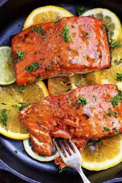 Grilled Triple Citrus Salmon | The Recipe Critic