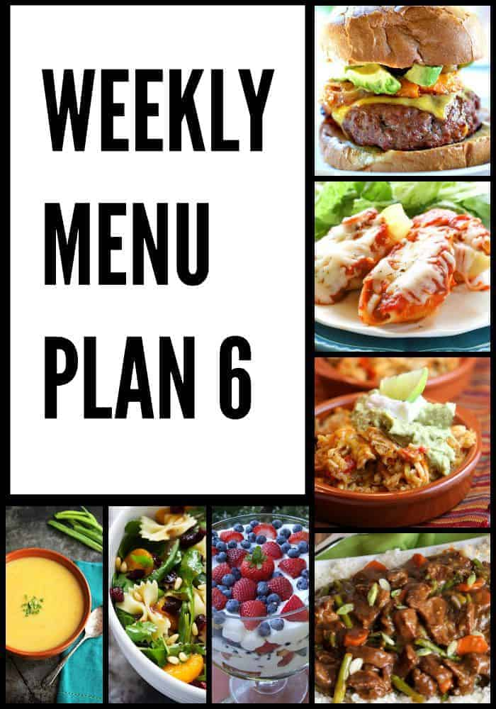 Weekly Menu Plan #6 The Recipe Critic
