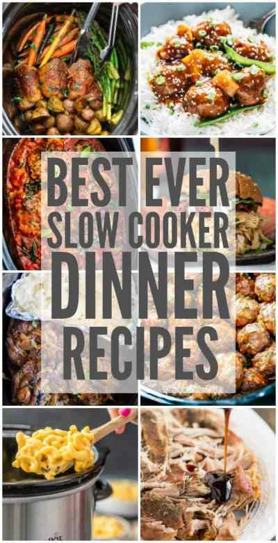 Best Ever Slow Cooker Dinner Recipes | The Recipe Critic