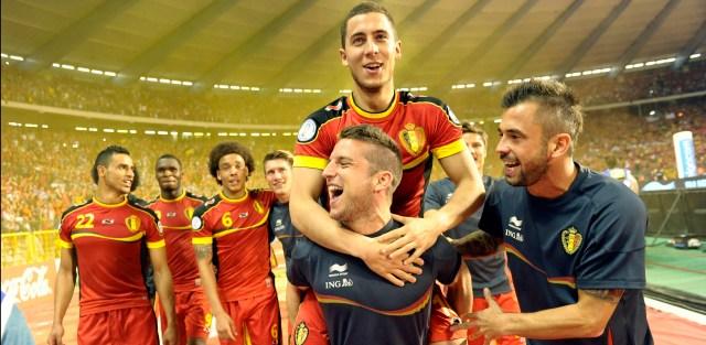 FOOTBALL : Belgique vs Serbie - FIFA Eliminatoire CM 2014 - 07/06/2013