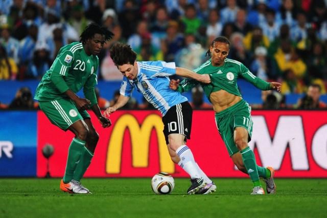 Messi vs Nigeria