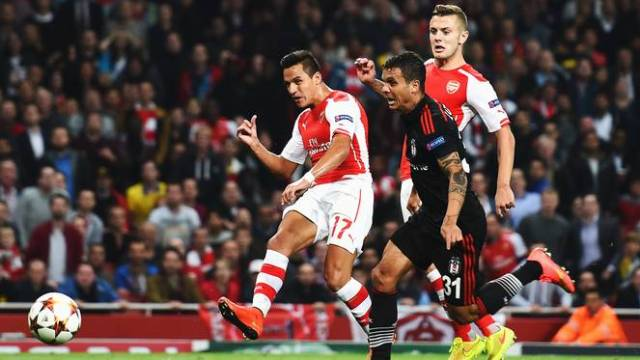 720p-Sanchez - Arsenal v Besiktas report