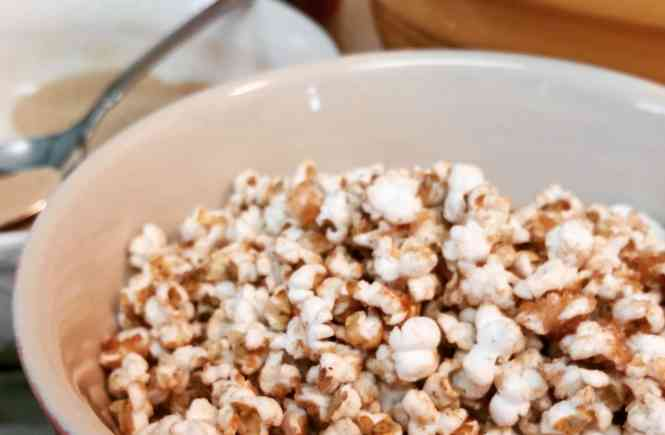 Mini Cinnamon Pop'corn'