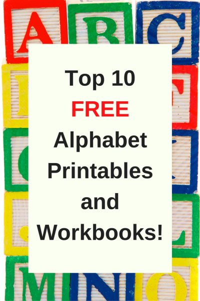 Free Printable Preschool Alphabet Worksheets - The Relaxed Homeschool