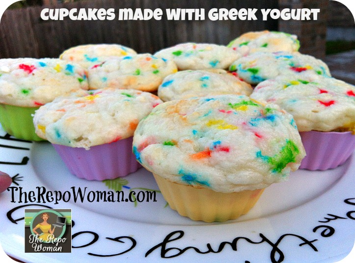 Best Cupcake Recipe Made With Greek Yogurt Heathy Option
