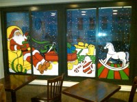 Christmas Window Painting Pictures | Home Painting