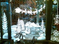 Winter Window Painting Ideas | www.imgkid.com - The Image ...