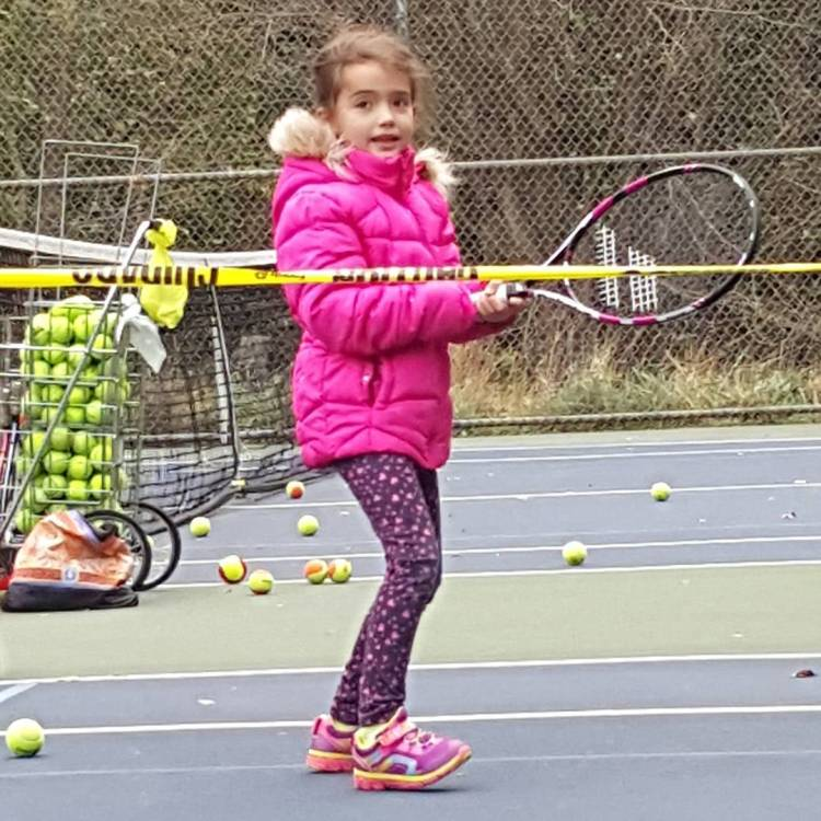 Getting outside for one more tennis practice before its toohellip