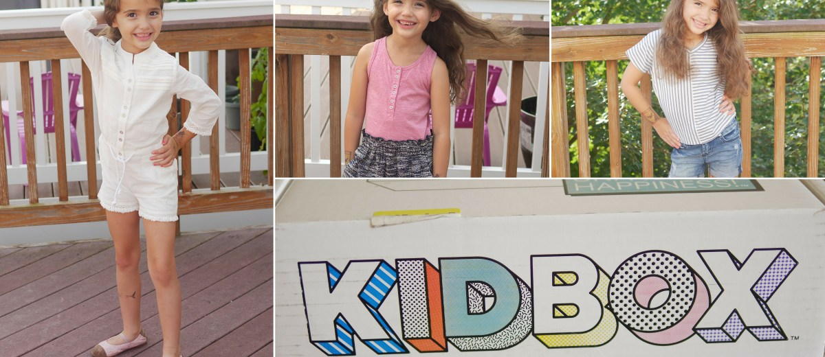 Unboxing the Kid Box - Featuring @kidbox - Found on www.theresasreviews.com