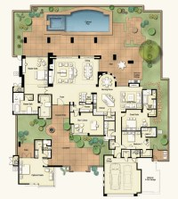 Tucson Custom Home Floor Plans