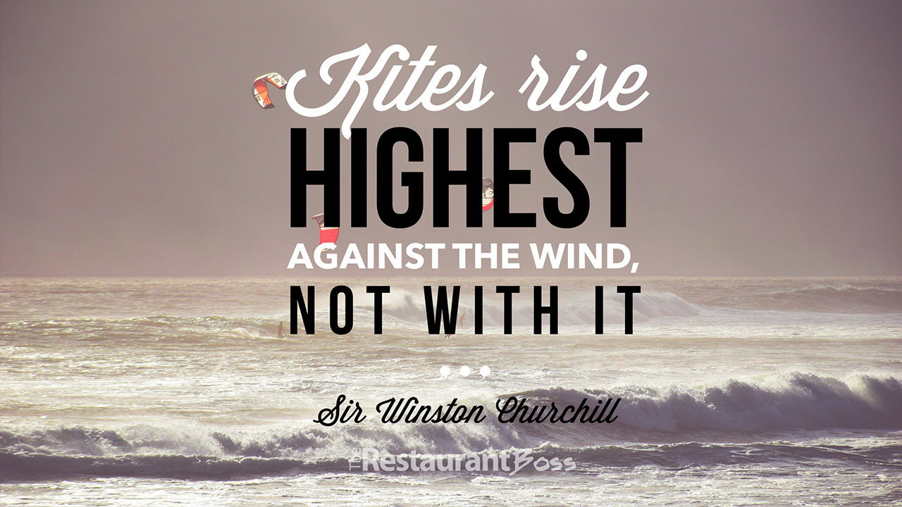 Good Quotes Wallpaper For Facebook Kites Rise Highest Against The Wind Not With It Sir