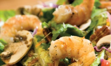 RESTAURANT La Pizzarra LARGE SHRIMP SALAD