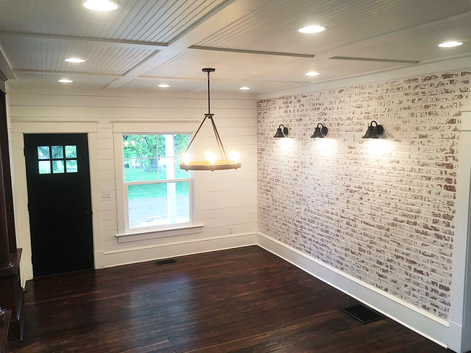 Faux Brick Interior Wall How To Build A Faux Brick Wall The Restoring House