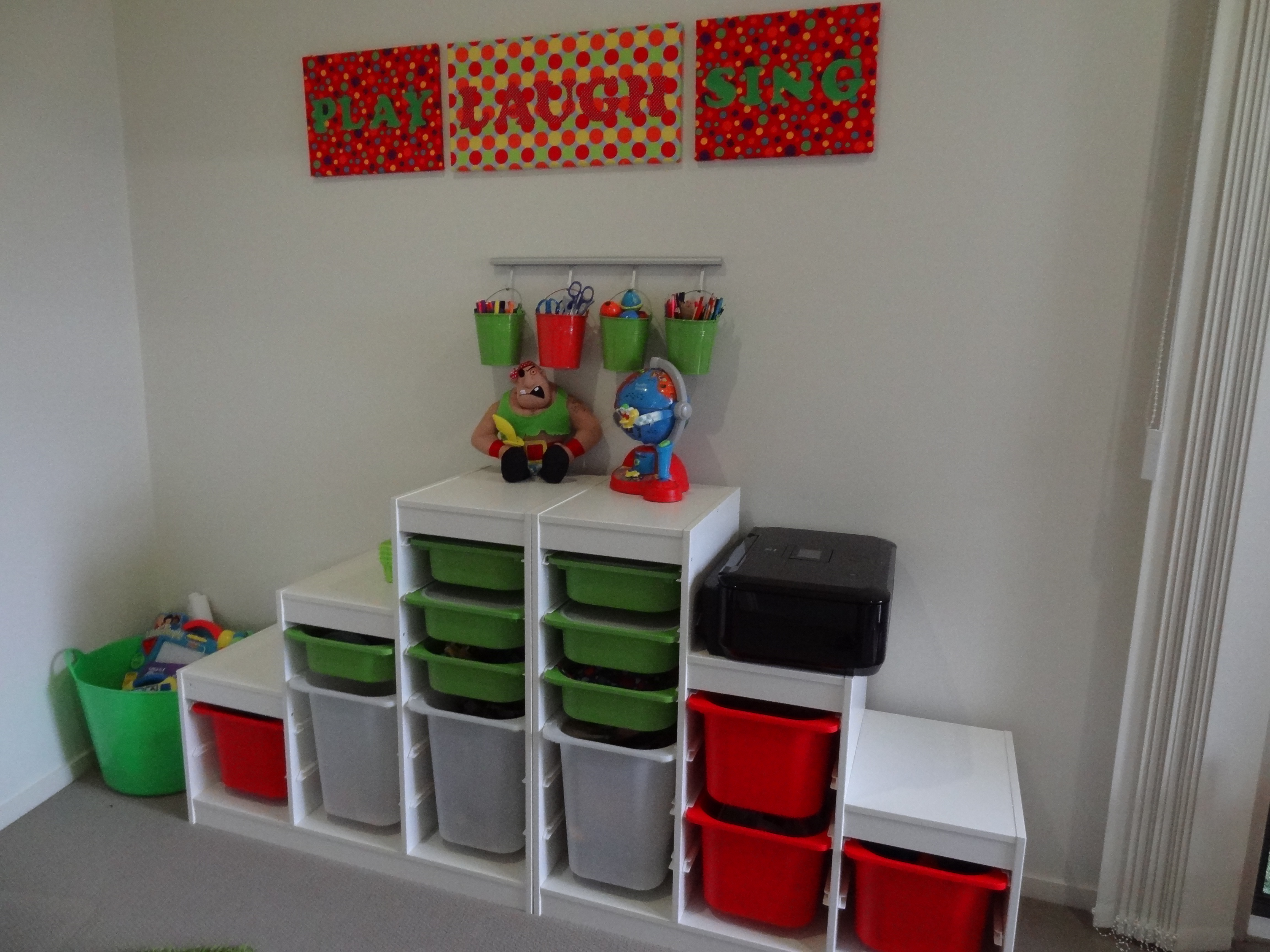 Playroom Storage Ideas Kids Playroom And Easy Diy Art Ideas There Was A