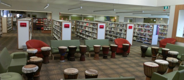Drumming in the Library