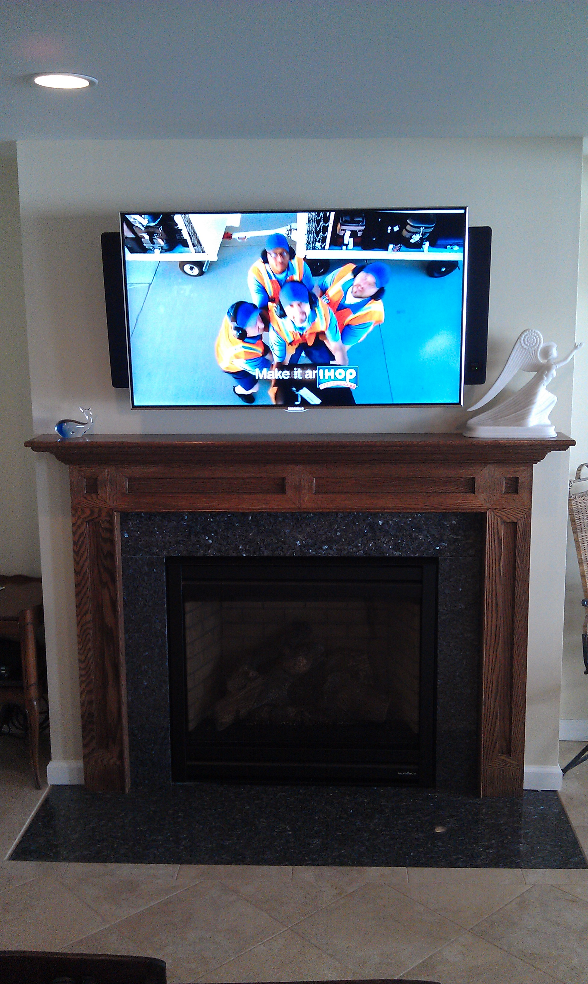 Photos Of Tv Mounted Over Fireplace Durham Ct Mount Tv Above Fireplace Richey Group Llc