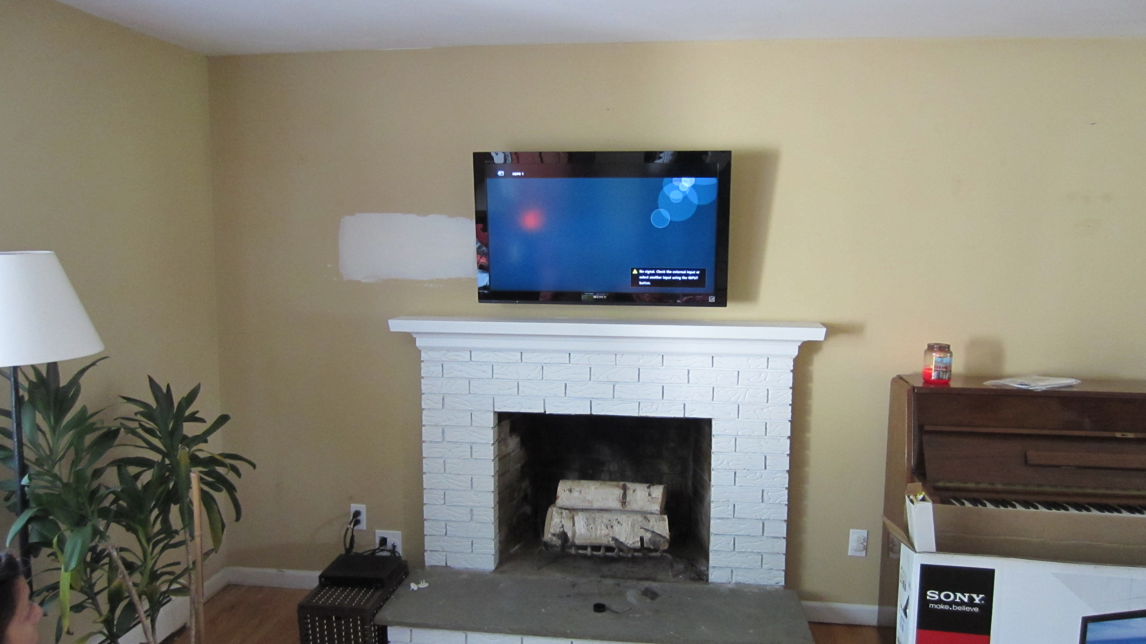 Photos Of Tv Mounted Over Fireplace Berlin Ct Mount Tv Above Fireplace Richey Group Llc