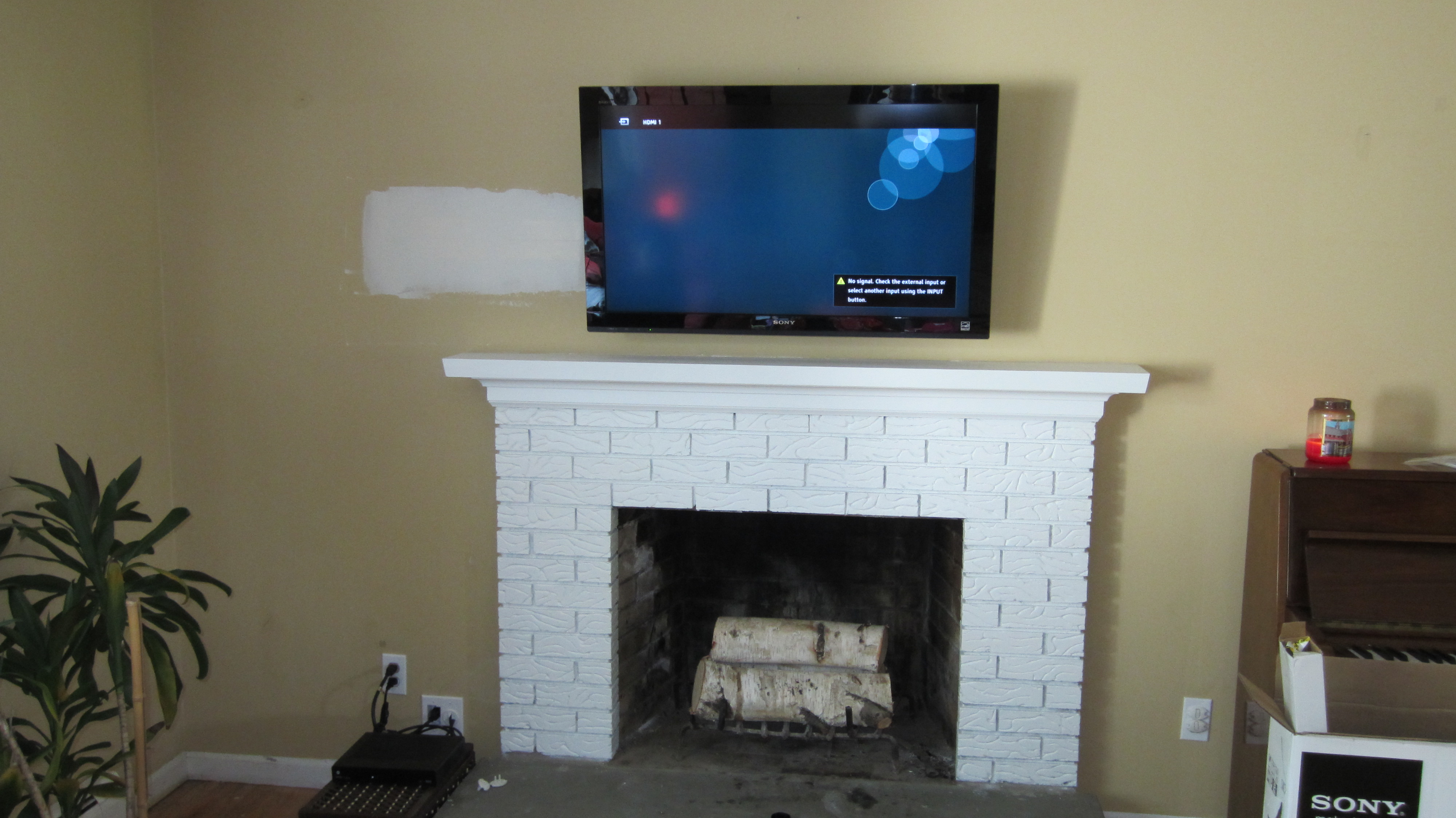 Photos Of Tv Mounted Over Fireplace Richey Group Llc Audio Video Experts Tv Installation