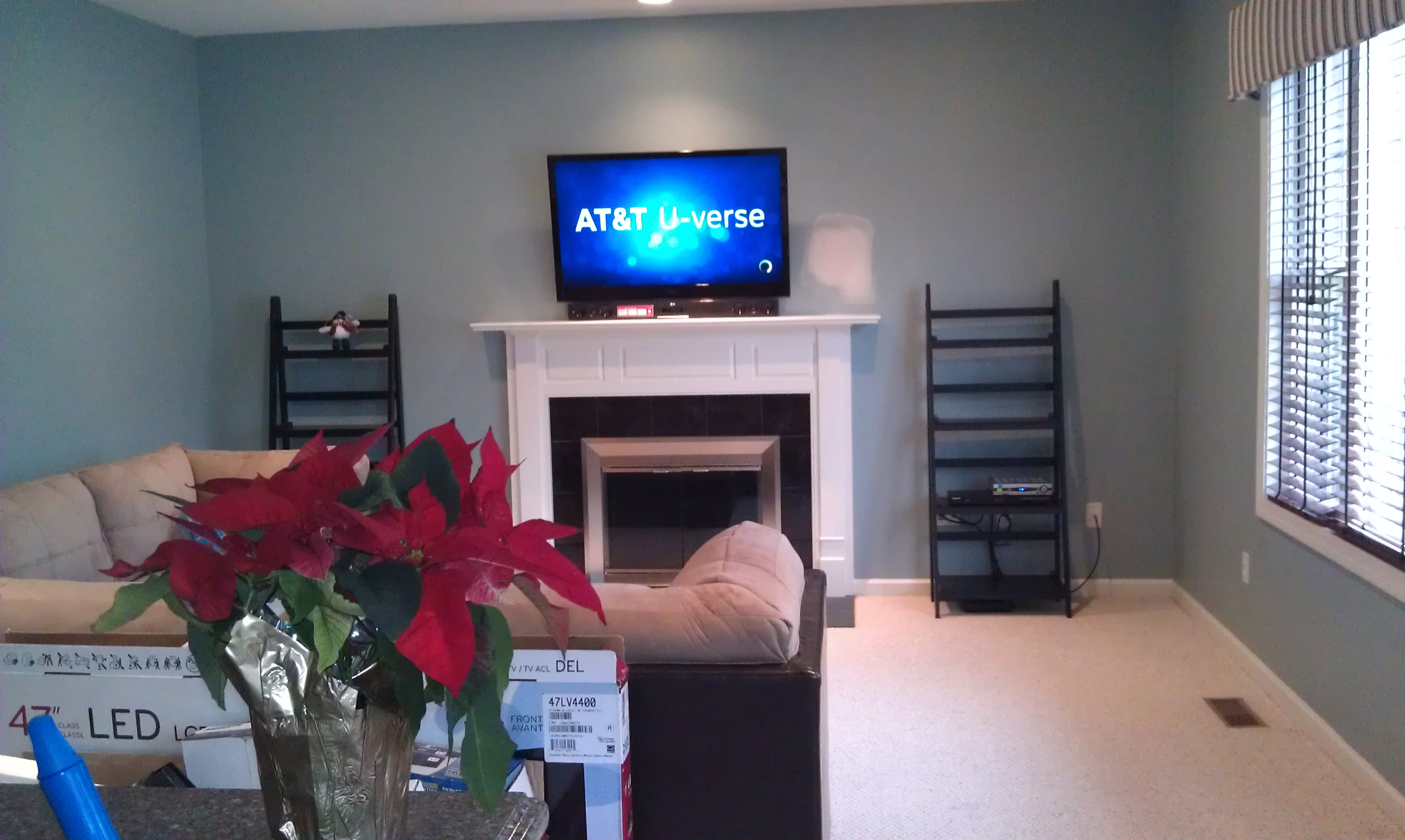 Television Over Fireplace Design Middletown Ct Mount Tv Above Fireplace Home Theater Installation