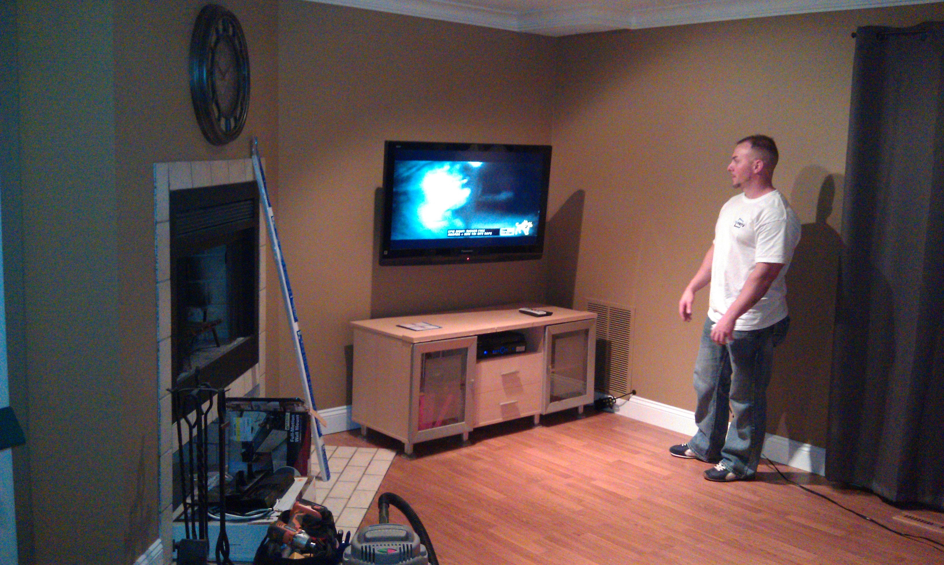 How To Put A Tv On A Wall Blog Home Theater Installation Connecticut 39s Finest