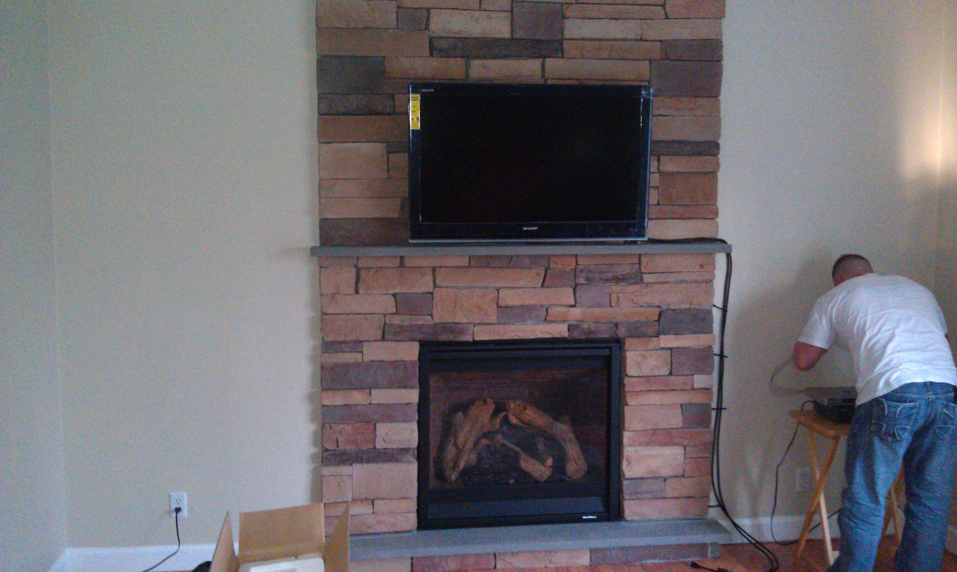 Photos Of Tv Mounted Over Fireplace Farmington Ct Mount Tv Above Fireplace Richey Group Llc