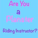 Plotter and Panster Instructors in Horsemanship