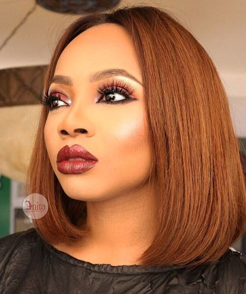 Long bob hairstyles for black women with weave