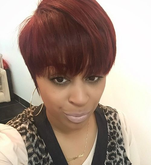 Surprising 60 Showiest Bob Haircuts For Black Women Short Hairstyles For Black Women Fulllsitofus