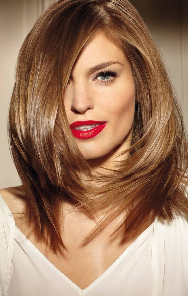 1000  ideas about Shoulder Length Hairstyles on Pinterest ...