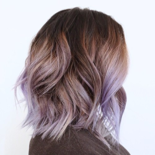 Lob With Pastel Highlights