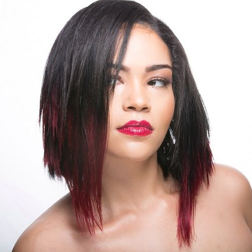 layered bob haircut for black women