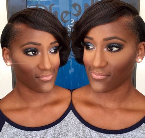 Swell 50 Most Captivating African American Short Hairstyles And Haircuts Hairstyle Inspiration Daily Dogsangcom