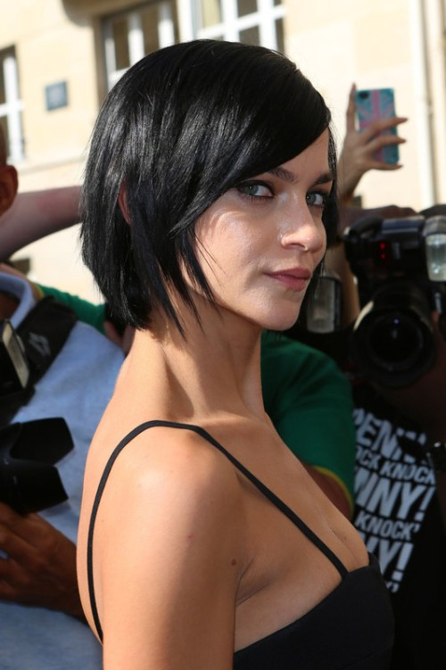 Leigh Lezark short hairstyle for fine hair