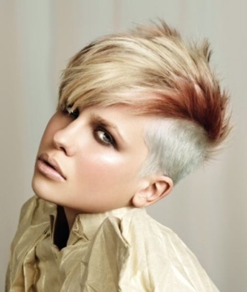 short mohawk hairstyles
