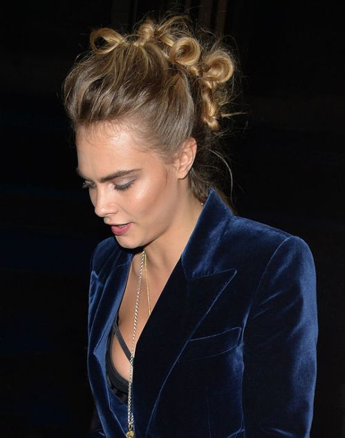 Cara Delevingne Mohawk from knots