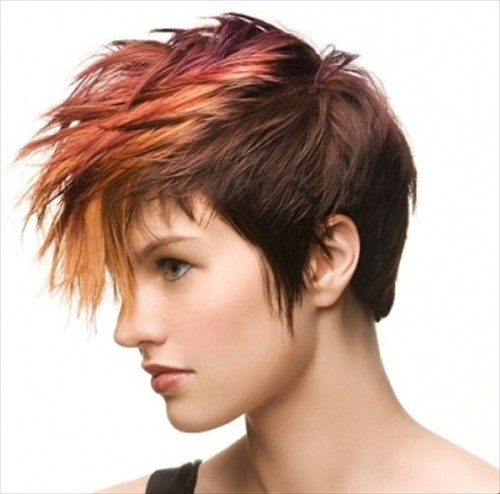 mohawk color accents