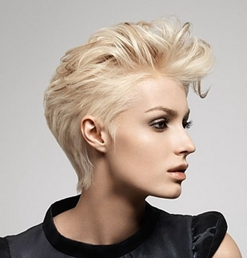 Pixie with a long fringe