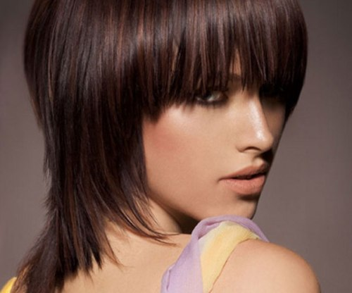 how to cut your own shag hair cut