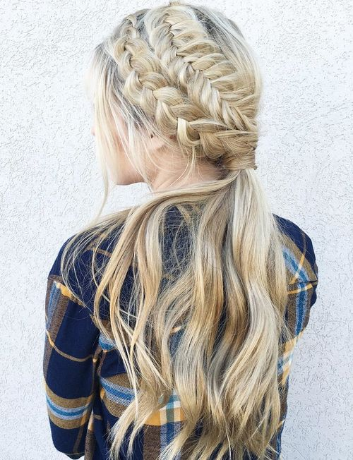 Tremendous 30 Best Dutch Braid Inspired Hairstyles Hairstyle Inspiration Daily Dogsangcom