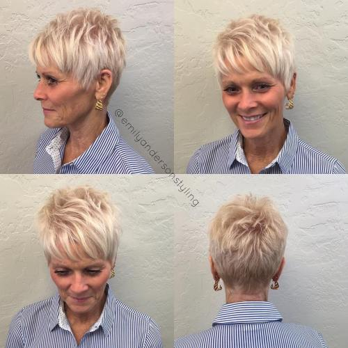 Pictures Of Short Cropped Hairstyles Over 50 | Short