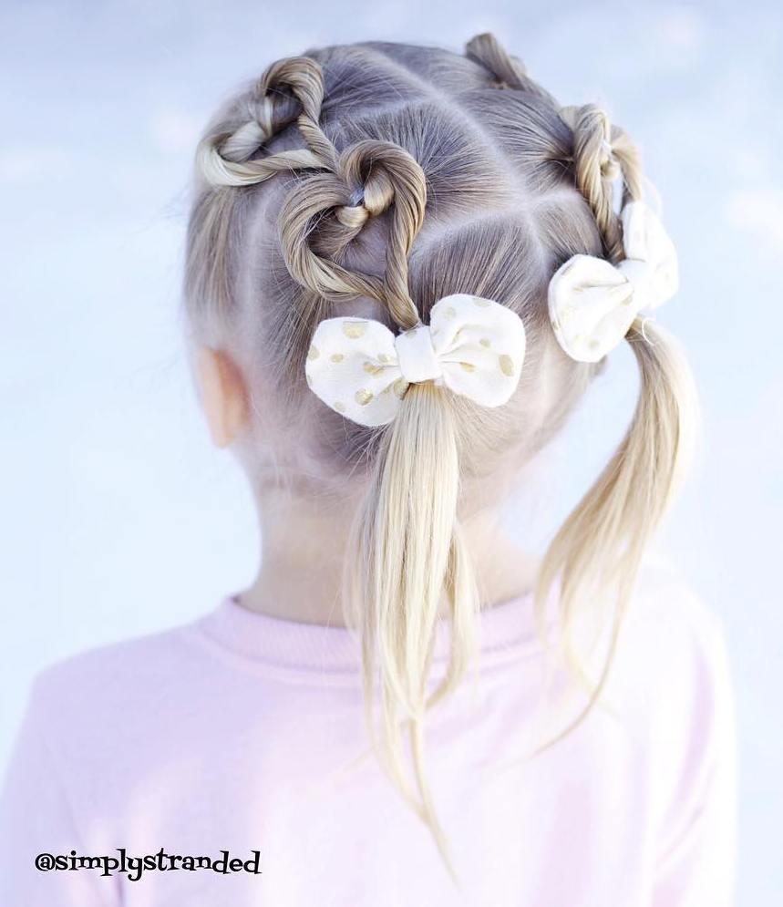 Pigtails For Little Girls