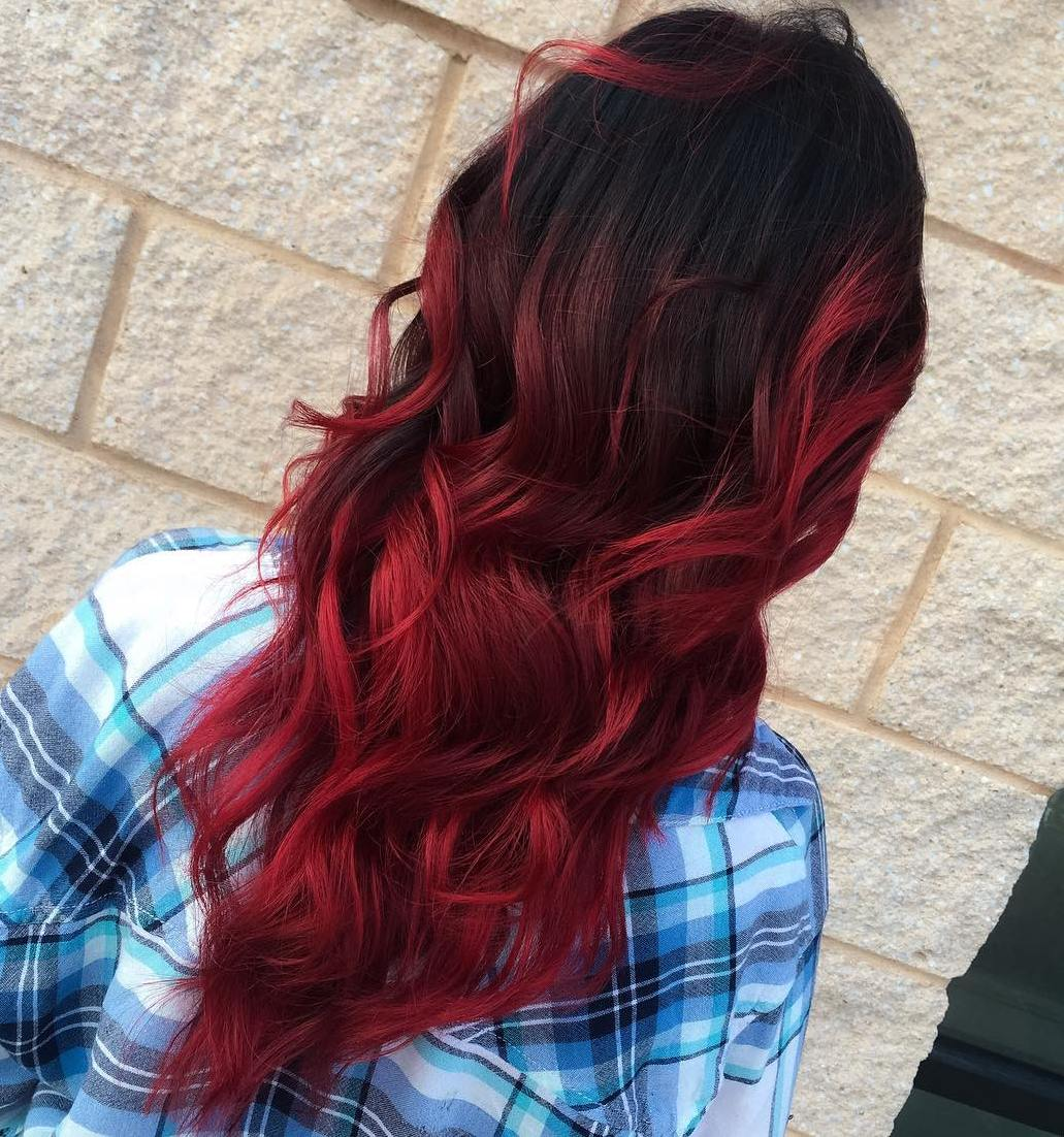 Haare Zweifarbig Färben 60 Best Ombre Hair Color Ideas For Blond Brown Red And
