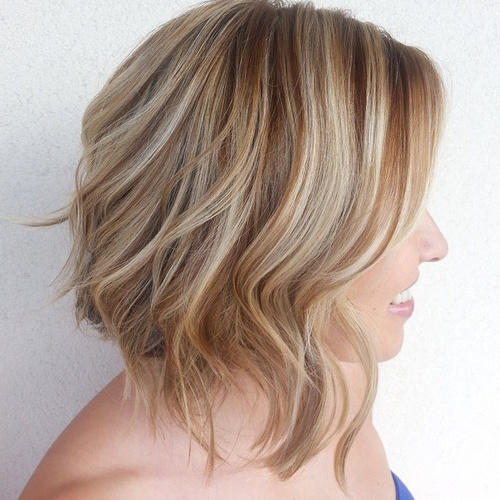 Short Blonde Hair With Brown Lowlights Www Picswe Com