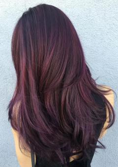 7-black-hair-with-purple-and-brown-balayage