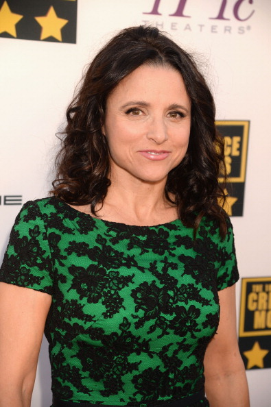 Julia Louis Dreyfus hairstyle for women over 50