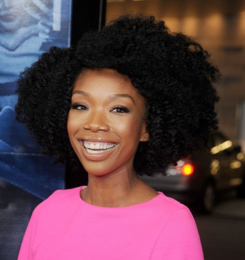 showed us how to achieve Brandy Norwood hairstyle as
