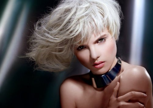 Blonde hairstyles - Bob silberblond ...