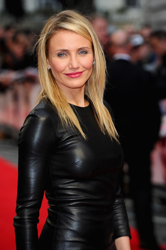 Cameron Diaz medium hairstyle for fine hair